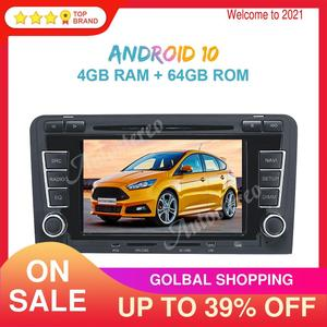 Image 1 - Android 10 PX5/PX6 Car Radio DVD Player GPS Navigation For Audi A3 2003 2013 Auto Stereo Multimedia Player Head Unit ISP Screen