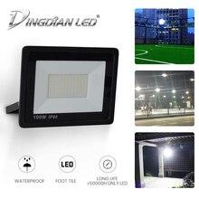 LED Flood Light Street Lamp Waterproof Outdoor Spot Light Cast Light LED Foodlight 10W/20W/30W/50W/100W/150W/200W AC165-265V цена 2017