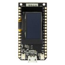 LILYGO®TTGO LORA V1.3 868/915Mhz ESP32 Chip SX1276 Módulo de pantalla OLED de 0,96 pulgadas con WIFI y placa de desarrollo de Bluetooth