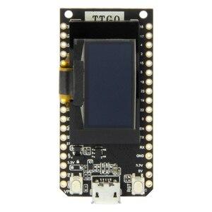 Image 1 - LILYGO®TTGO לורה V1.3 868/915Mhz ESP32 שבב SX1276 מודול 0.96 אינץ OLED מסך WIFI ו Bluetooth פיתוח לוח