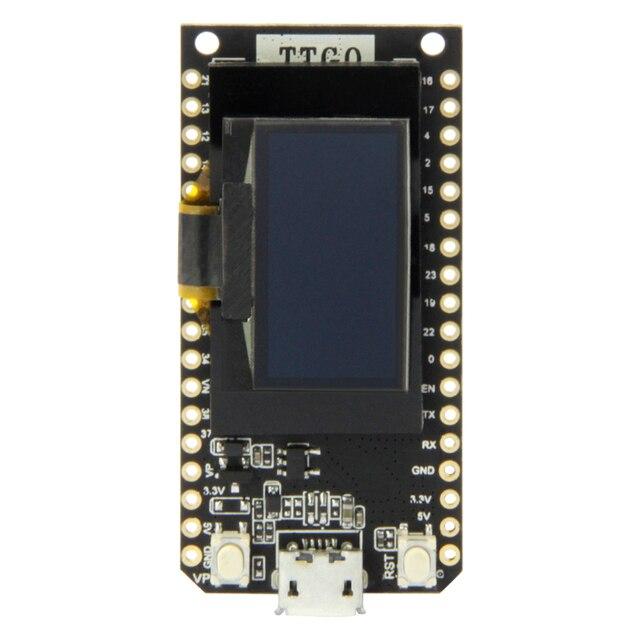 LILYGO®TTGO לורה V1.3 868/915Mhz ESP32 שבב SX1276 מודול 0.96 אינץ OLED מסך WIFI ו Bluetooth פיתוח לוח