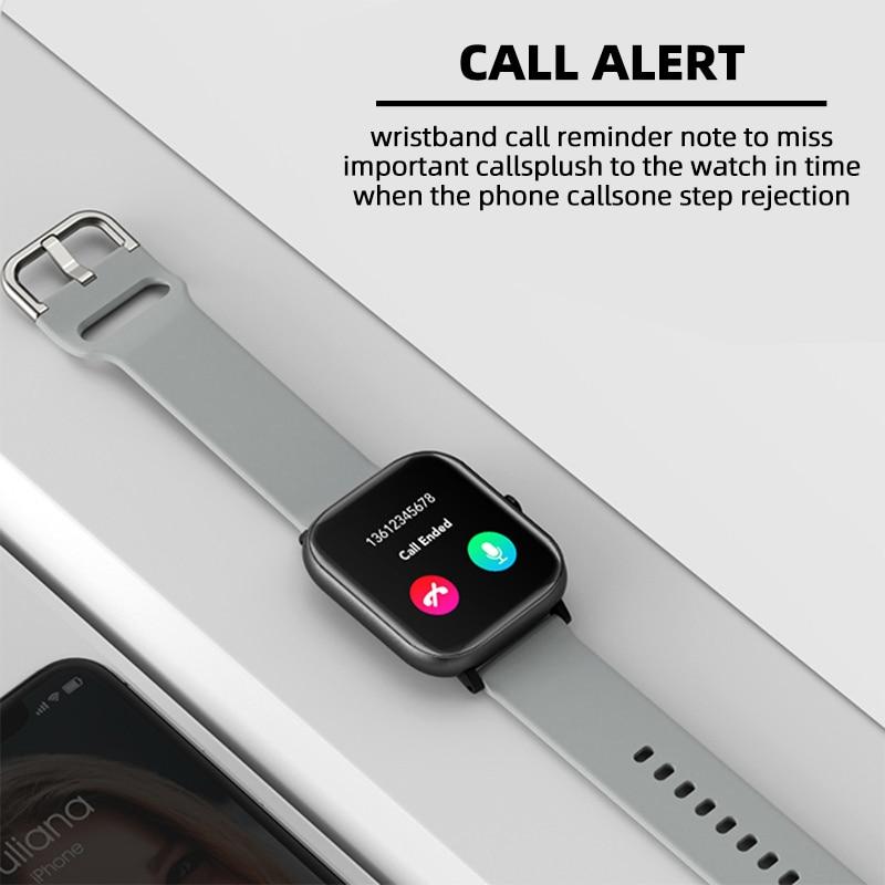 Smart Watch Men Women 2020 Smart Watch Android Fitness Calories Heart Rate Monitor Smartwatch Kids Smart Sport Watch Bracelet 2