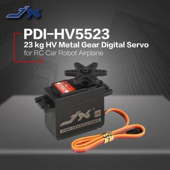 JX PDI-HV5523 HV Wysokiego Napięcia Metal Gear Cyfrowy Rdzeń Serwo Z 23kg Wysoki Moment Obrotowy Dla RC Samochód Robot Samolot Samolot Zabawki Drony