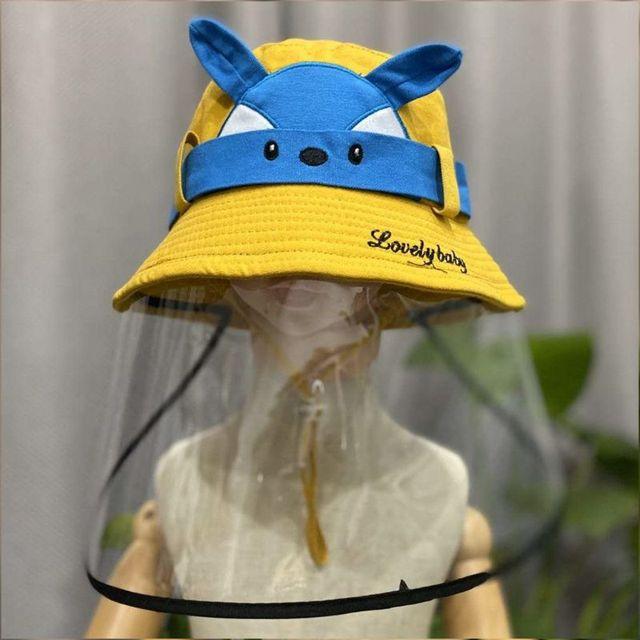 Child Anti-saliva Dust-proof Full Face Protective Cover Mask Visor Shield 634B 3