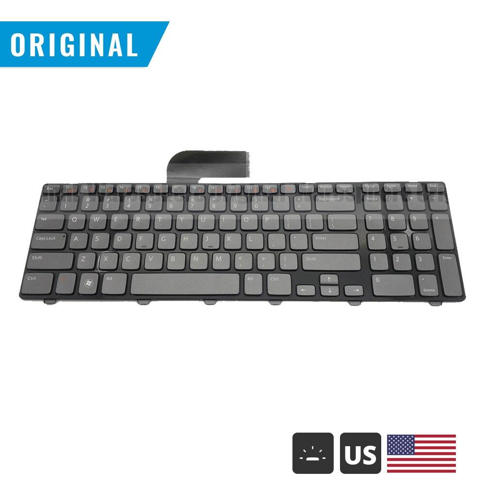 Original US Backlit Laptop Keyboard For Dell 17 17R N7110 5720 7720 3750 XPS L702X