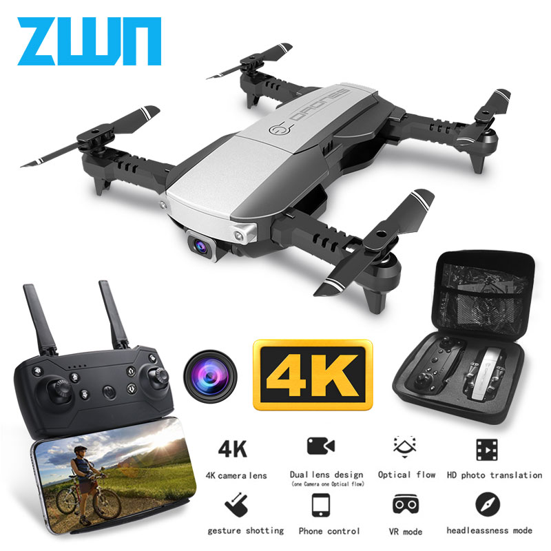 Z1 Wifi FPV Mini Drone With 1080P 4K HD Camera Optical Flow Positioning Gesture Control Rc Quadcopter Vs Sg106 Visuo Xs816 Dron