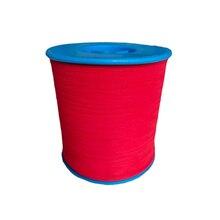 0,5 мм 1000 м в ширину светоотражающая ткань шелк Выделите двусторонний отражающий пряжа кабель для DIY вязания одежды сумки аксессуары