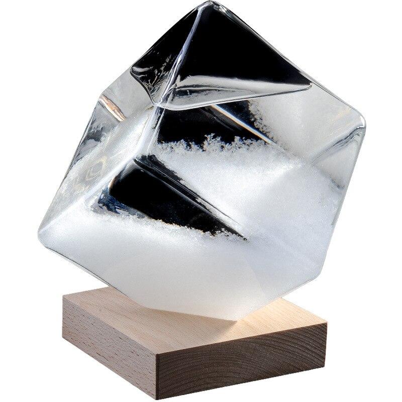Вода-куб погодные предметы бутылка настольная стеклянная бутылка прогноз погоды штормовое стекло украшение для дома подарок на день