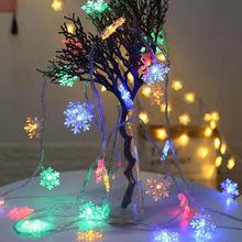 Snowflake LED Light Merry Christmas Tree Decoration for Home 2020 Christmas Ornament Navidad Xmas Gift Happy New Year 2021 Natal cheap CN(Origin) DD24 No Gift Box christmas decorations for home new Year decoration navidad 2020 christmas tree decorations natale