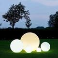 16 Цвет RGB светодиодный шар Сад вечерние украшения плавательный бассейн плавающий шар светильник IP68 открытый газон лампы на солнечных батар...