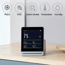 Xiaomi Mijia jasne z trawy detektor 3.1 ''IPS ekran dotykowy kompleksowe Monitor PM2.5 APP sterowania kryty odkryty detektor powietrza 2