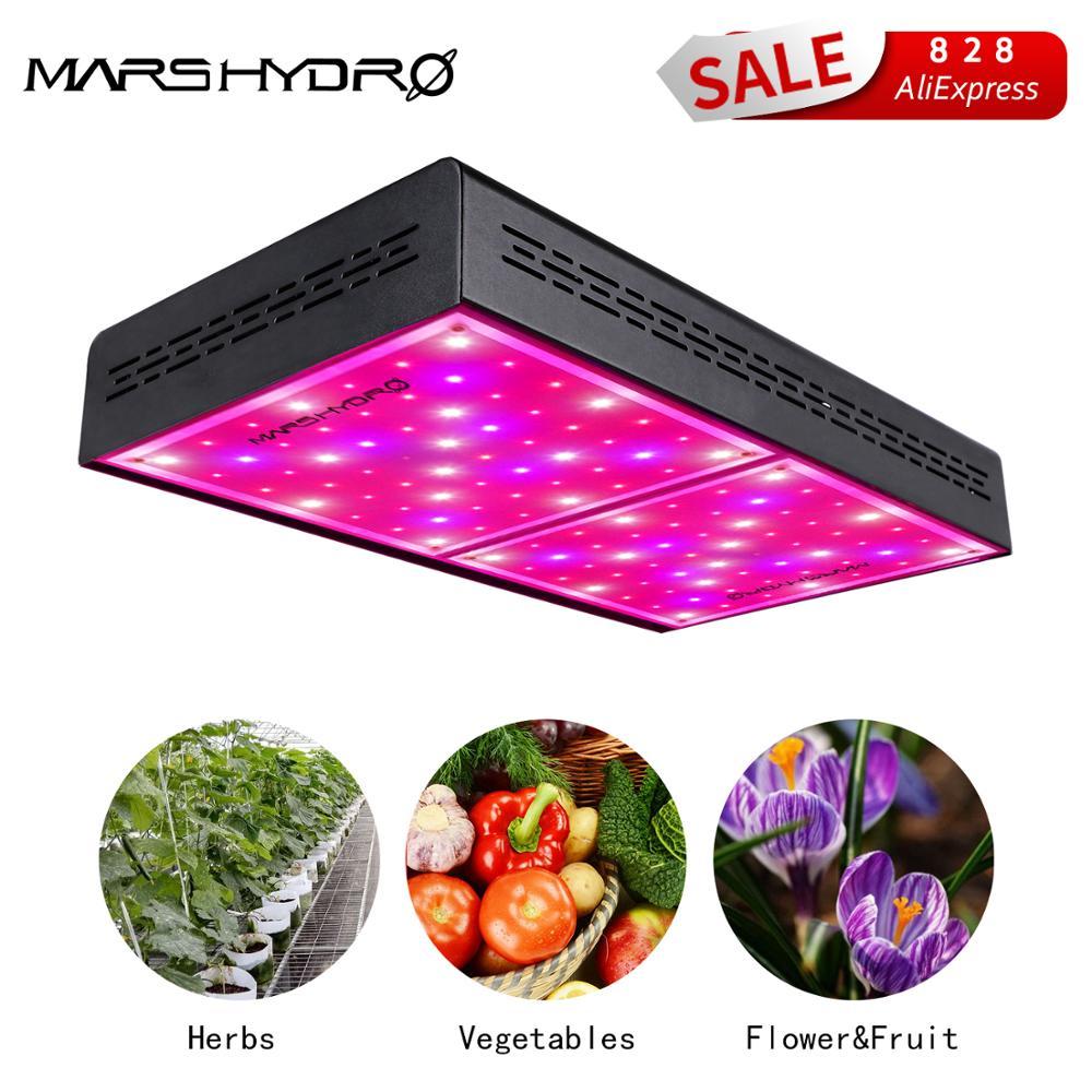 Grow Tent 4/'×2/'×6/' Kit+Mars Hydro 600W Led Grow Light Veg Flower Plant Lamp
