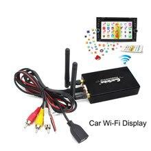 CarLink Авто WiFi дисплей Автомобильный WiFi дисплей экран зеркальное отображение для IOS AirPlay аудио Miracast универсальный Смарт Портативный 5,8G