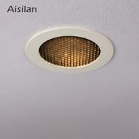 Aisilan LED Spot light Led Recessed Downlight Unique Cellular Anti Glare Design indoor lighting Cut out 8CM