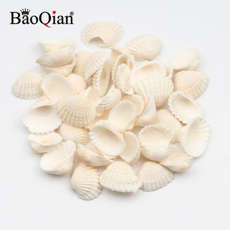 30 шт., 20-30 мм, натуральный морской ракушка, Пляжное украшение, украшение в морском стиле для снежных приправ, Diy украшение для дома
