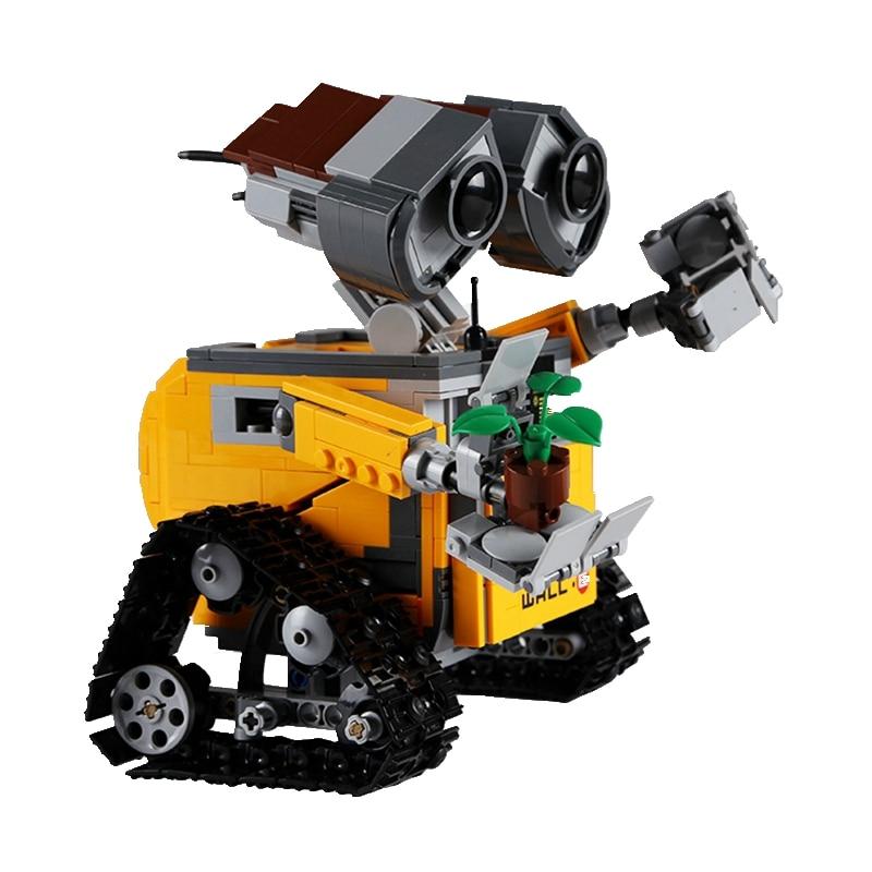 Robot Wall-E Building Blocks Toy 3