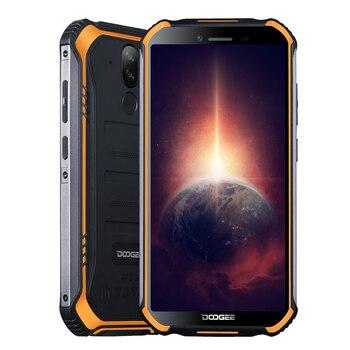 Перейти на Алиэкспресс и купить Смартфон DOOGEE S40 Pro защищенный, IP68, 4 + 64 ГБ, 5,45 дюйма, 4650 мА · ч, Android 10, MT6762D, A25, 1,8 ГГц