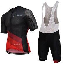 цена на 2020 Team COLNAGO Cycling Clothing Bike Jersey Men Bicycle Ropa Ciclismo Summer Pro Cycling Jerseys 9D Gel Pad Bike Bib Shorts