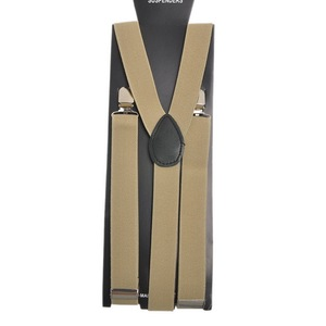 2020 Adjustable Elasticated Adult Suspender Straps Unisex Women Men Y Shape Elastic Clip-on Suspenders 3 Clip Pants Braces