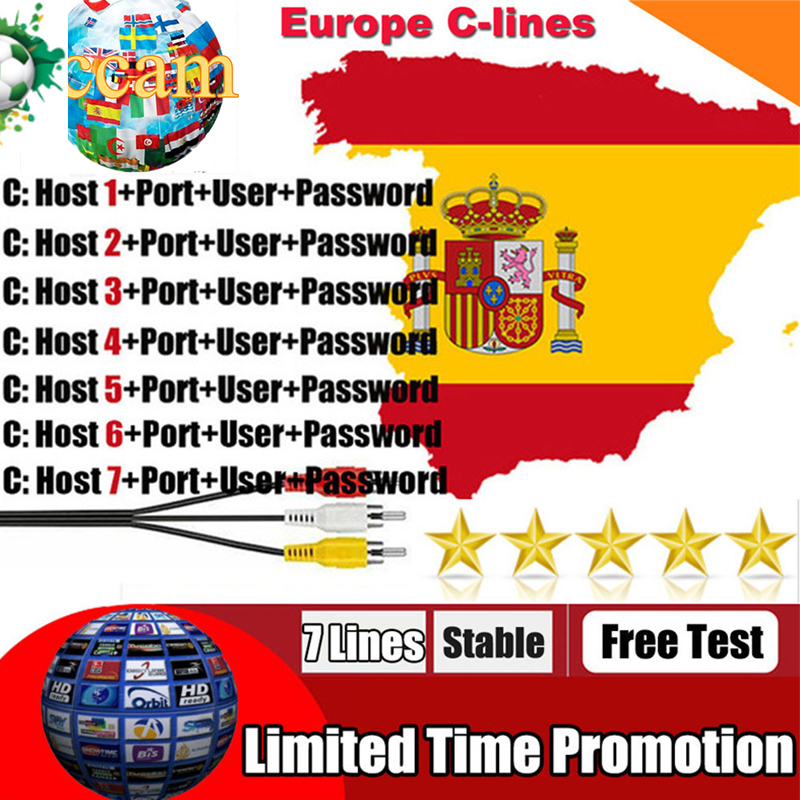 Cccam Europa Server For 3 Year Europe Spain Portugal France DVB-S2 X800S X800 V7,V7S HD,V8 Super,V8 NOVA Satellite Receiver