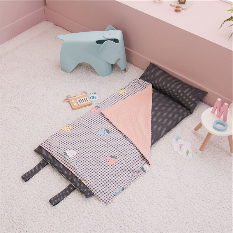 145X65cm Portable Baby Bed Pad Travel Sleep Mat Kids Tent Play Bed Blankt  For Newborn Baby Bed Pillow Cushion Nest Room Decor