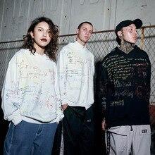 Graffiti Hoodie Sweatshirt Mens Hip Hop