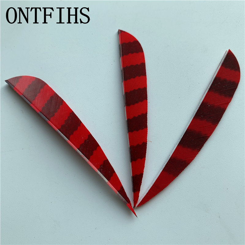 50 Pcs 3 inches Arrow Feather Hunting Archery Accessories With Turkey Real Plume in Bow Arrow from Sports Entertainment
