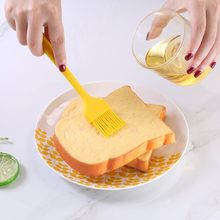 Food grade silicone brush integrated high temperature barbecue brush soy sauce brush baking utensils(China)