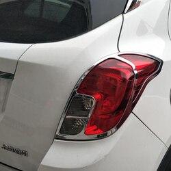 2017-2018 dla Buick Encore tylny reflektor rama Taillight cover tylne światła przeciwmgielne dekoracja lampy cekinowa modyfikacja
