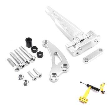 Suitable for Honda CB650F for HONDA direction damper base 17 years CB650F damping bracket titanium size 18