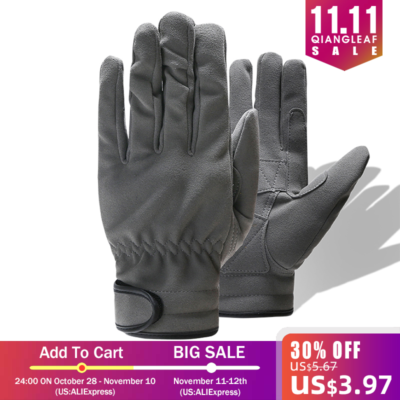 QIANGLEAF Brand Mechanic Work Glove Hot Sale Gardening Glove Best Selling Products Safety Gloves For Workers 6495
