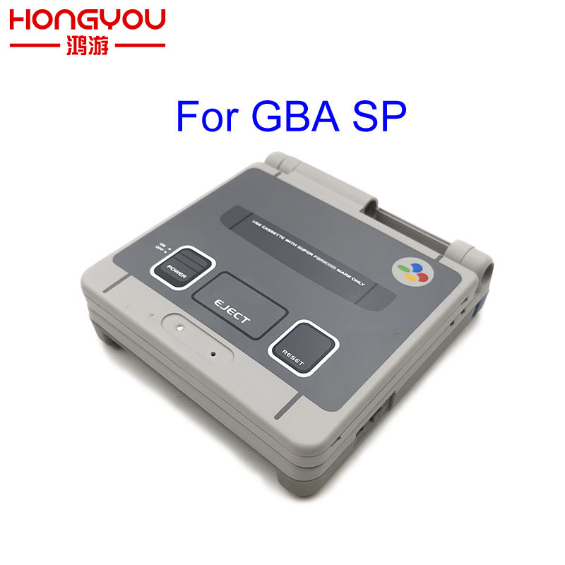 Limited edition Full Housing Shell Replacement For Nintendo Gameboy Advance SP For GBA SP Game Console Cover Case(China)