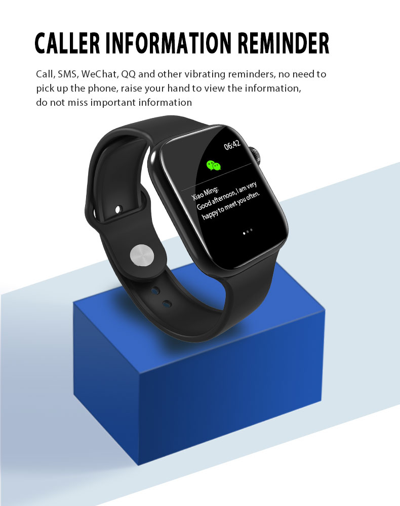 F9 s PK iwo8 b57 Touch Screen smart watches to Monitor Heart rate and Blood pressure Supported for IOS Android for men women 28