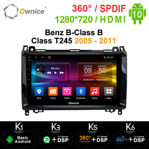 Image 1 - Ownice Android 10.0 OCTA Coreรถยนต์DVD GPS NaviสำหรับMercedes Benz B Class B Class T245 2005   2011 360 Panorama DSP 4G LTE SPDIF