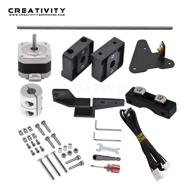 Dual Z Axis Lead Screw Upgrade Kits for Ender3 Ender3S CR10S CR10 3D Printer Accessories impressora 3d ender 3 pro dual z axis 1
