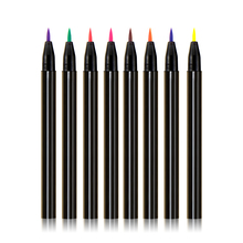 No Logo Neon Eyeliner Liquid eye pencil Waterproof Long Lasting Eye Liner Pencil Private Label Cosmetics Wholesale 80pcs/lot