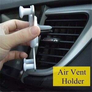 Image 4 - Soporte de teléfono Gravity para coche, soporte de ventilación de aire para teléfono móvil iPhone XR, Samsung, Huawei, GPS