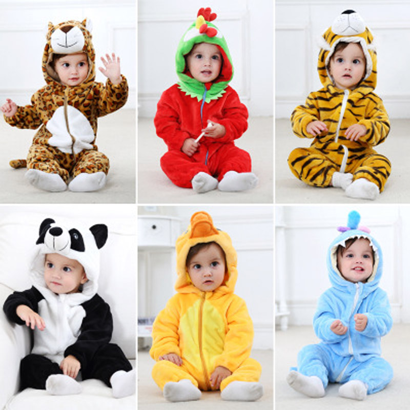Newborn Baby Rompers Clothing Double sided Law Levin Velvet Coral Velvet Blanket Infant Jumpsuits Ins Girls Boys Baby Clothes in Clothing Sets from Mother Kids
