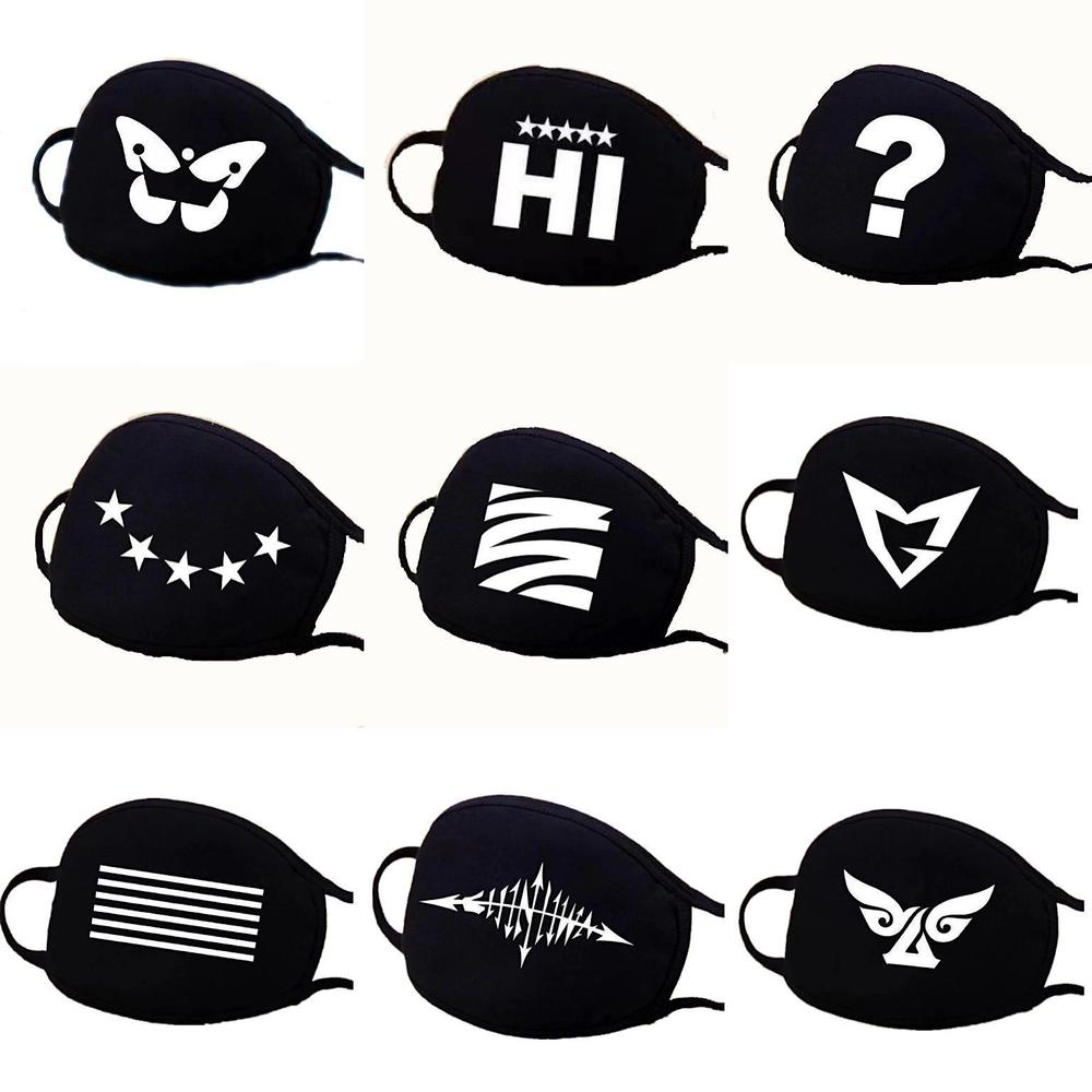 New 1Pc Unisex Black Cotton Anti-dust Mask Outdoor Wearing Windproof Warm  Anti-fog Face Mask New Arrival
