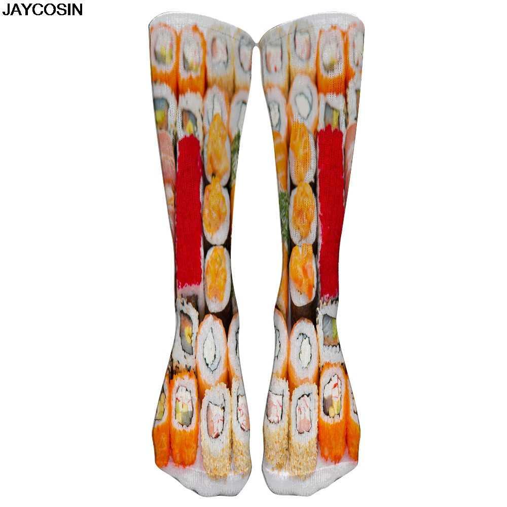 JAYCOSIN, новинка 2019 года, хлопковые женские носки, повседневная Милая уличная одежда, забавный дизайн, Инопланетянин, свинья, собака, кошка, космический Принт, подарок для девочки, 9909