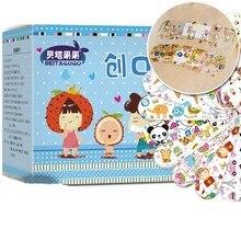 Stop Bandage First-Aid Waterproof Kids Cartoon Children 120pcs/Pack Safety-Supplies Injury