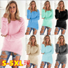 Super Soft And Comfortable Self-Cultivation Solid Color O Neck Pullover Women's Sweater Fashion Sexy Top Ladies Hipster Clothing