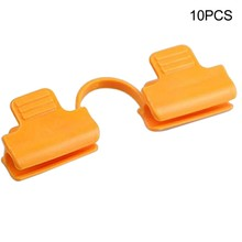 10PC Agriculture Greenhouse Garden Clip Clamp Clips Grommets for Fastening Shade Cloth Netting Net Clip Arched Shade Accessories(China)