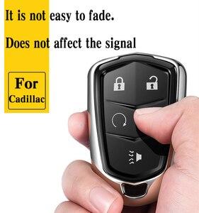 Image 4 - Hight qualidade pc + tpu caso chave capa caso chave protetor titular escudo para cadillac xt5/atsl/xts/xt4