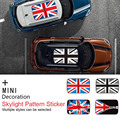 New Roof Skylight Sticker Car Styling for MINI COOPER F55 F56 F60 F54 R55 R56 R60 R61 Clubman Countryman Auto Assessoires Decals