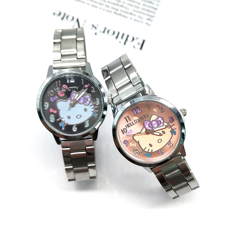 Women Watch Girls Kids Women Children Gifts Cartoon Watch Full Stainless Steel Strap Quartz Watch Clock Hodinky