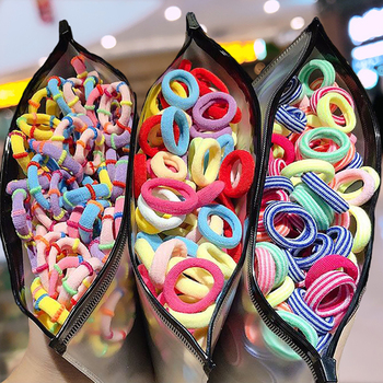 50 100 200 sztuk torba dzieci słodkie cukierki Cartoon stałe elastyczne gumki do włosów dziewczyny piękne Srunchies opaski gumowe Kid akcesoria do włosów tanie i dobre opinie raindo CN (pochodzenie) Octan COTTON RUBBER Nakrycia głowy Elastyczne opaski do włosów Moda 1972