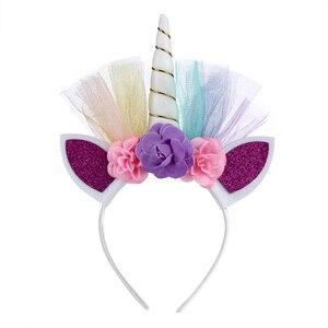 Image 5 - Girls Unicorn Rainbow Dress Halloween Costume Kids Party Tutu Dress with Long Tail Tulle Wing Little Horse Birthday Pony Dress