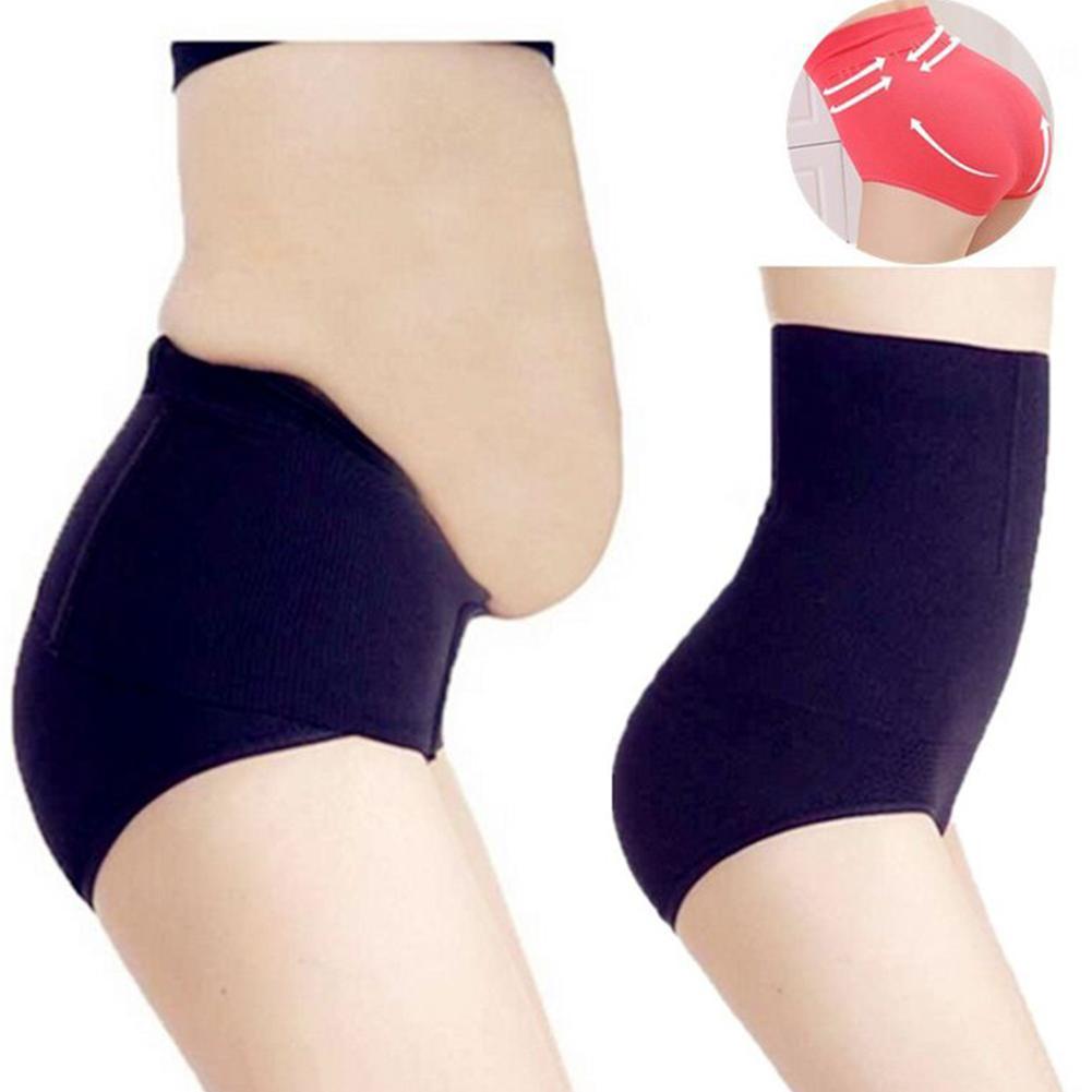 Women Shapers Solid Color Seamless High Waist Shapewear Tummy Control Corset Briefs Magic Body Shapewear Lady Corset Underwear
