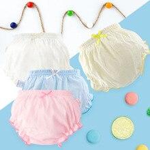 Toddler Baby Underwear Kids 100% Cotton Underpants Girls Panties Newborn Boys Summer Solid Color Shorts Infant Baby Briefs